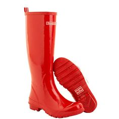 Who doesn't need a good pair of red rain boots...and on discount???