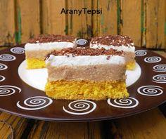 AranyTepsi: Karamellás-tejszínes sütemény
