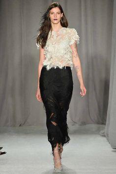 "FASHION WEEK, P/V 2014, ""MARCHESA"". http://angelguardiandelamoda.wordpress.com/2013/09/14/fashion-week-pv-2014-marchesa/"