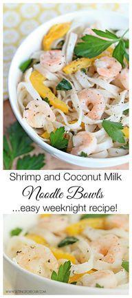 Coconut Noodle Soup With Tea-Smoked Shrimp Recipe — Dishmaps