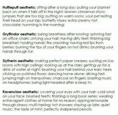 Once again so Slytherin, and a little Ravenclaw lol