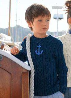 Bergere de France Crew Neck Sweater Pattern