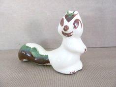 Vintage Squirrel Figurine, 1950's Rio Hondo Squirrel Figurine, Ceramic Squirrel, Mid Century Decor