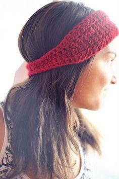 Ear Warmer Headband Tutorial