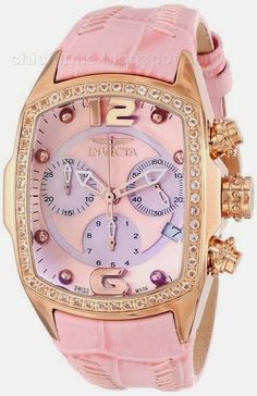 Invicta Women's INVICTA-14479 Lupah Analog Display Swiss Quartz Pink Watch- buy it here !