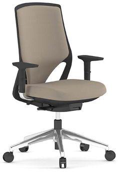 Silla de oficina con asiento tapizado eFit Actiu http://www.asturalba.com/mobiliario/sillas/sillas.htm