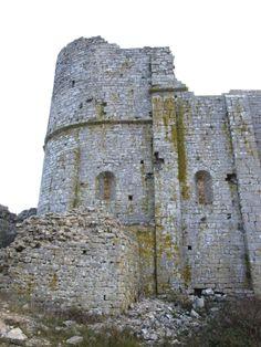 château d'Aumelas.forteresse féodale (Hérault) XIè-XIVè siècle