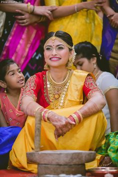 Beautiful South Indian Wedding Wear Idea :- AwesomeLifestyleFashion Different Culture have their own look and style and Kanjivaram and. Indian Wedding Wear, Saree Wedding, Tamil Wedding, South Indian Weddings, South Indian Bride, Indian Engagement, Indian Marriage, Indian Bridal Makeup, Before Wedding