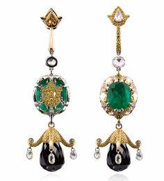 『珠宝』Alessio Boschi 推出新高级珠宝系列:印度建筑灵感   iDaily Jewelry · 每日珠宝杂志