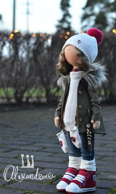 Авторская кукла Татьяны Александровой: LISA