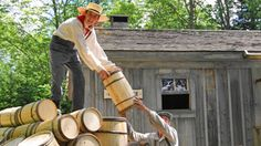 New Ross Farm is a great living museum farm from the 1800s. Live re-enactments