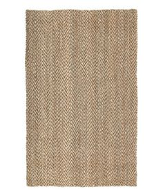 Another great find on #zulily! Natural Essential Zigzag Rug by Kaleen #zulilyfinds