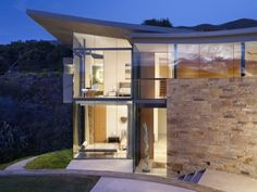 modern house - cool roof