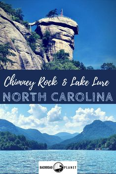 The scenic beauty of Chimney Rock State Park and Lake Lure North Carolina USA has made the region not only a frequent motion picture location but also a favorite destination for hiking boating waterfall-chasing and the annual Dirty Dancing Festival! Lake Lure North Carolina, Carolina Usa, Chimney Rock North Carolina, North Carolina Camping, North Carolina Mountains, Places To Travel, Places To See, Travel Destinations, Dirty Dancing