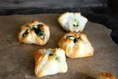 Tapas, Spinach Puff, Food Porn, Vegetarian Recipes, Healthy Recipes, Food Inspiration, Foodies, Brunch, Veggies