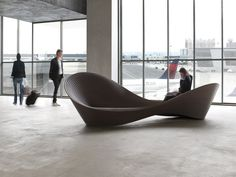 ron arad: folly bench for magis - designboom