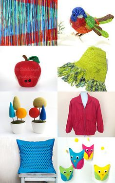 BREAKING NEWS: The Colors are Rioting!! by Janet Long on Etsy--Pinned with TreasuryPin.com