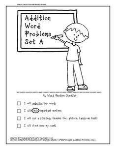 2nd grade, 3rd grade Math Worksheets: Addition word
