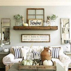 27 Rustic Wall Decor Ideas To Turn Shabby Into Fabulous | Living Room |  Pinterest | Rustic Wall Decor, Rustic Walls And Window Frames