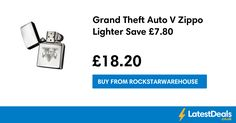 Grand Theft Auto V Zippo Lighter Save £7.80, £18.20 at Rockstarwarehouse