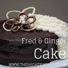 A cake based on Fred & Ginger? You've got it. Check out this chocolate-ginger-buttercream masterpiece for yourself.