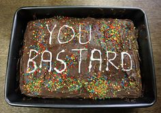 """""""Hey J, I made you a cake"""" Funny Birthday Cakes, Funny Cake, Sport Motivation, Ugly Cakes, Just Cakes, South Park, Let Them Eat Cake, Amazing Cakes, Make It Yourself"""