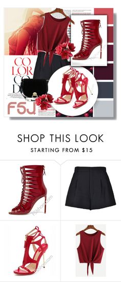 """FSJ Shoes III/9"" by zeljanadusanic ❤ liked on Polyvore featuring RED Valentino, Diane Von Furstenberg, fsjshoes and fsj"