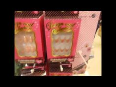 """Daiso """"Dollar Store"""" 1 Kyoto Tokyo Japan lots of Nail Art Goodies Daiso, Tokyo Japan, Kyoto, Dollar Stores, Goodies, Nail Art, Frame, Sweet Like Candy, Picture Frame"""