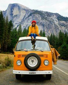 45 Ideas For Travel Car Photography Camping - Travel Photography Camping Checklist, Mini Van, Voyager C'est Vivre, Europa Tour, Travel Photographie, Kombi Home, Kombi Camper, Bus Girl, Vw Vintage