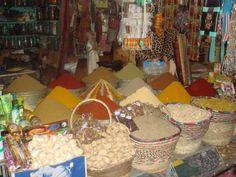 Spice Market in Agadir, Morocco