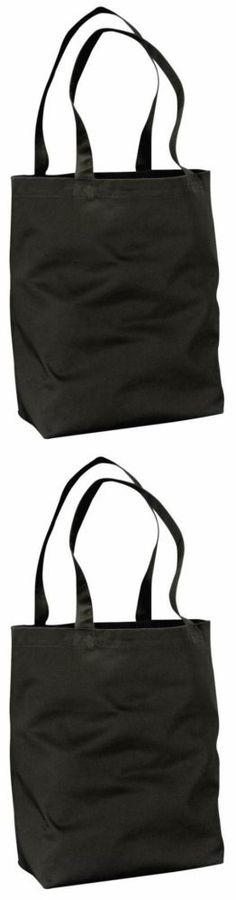 ECOnscious 100% Organic Cotton Twill Everyday Tote (Black)