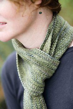 Ravelry: Koigu Linen Stitch Scarf pattern by Churchmouse Yarns and Teas