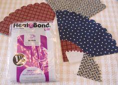 Sizzix Die Cutting Tutorial: Americana Mini Fabric Cones by Hilary Kanwischer