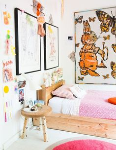 kids bedroom mark tuckey // the design files Rooms Decoration, Room Decor, Bohemian Kids, Bohemian Room, Bohemian Decor, Branch Decor, The Design Files, Deco Design, Kid Spaces