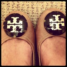 Nude Tortoise Tory Burch flats.  And it'll never happen :)