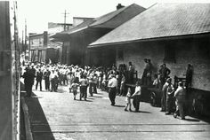 Cville depot looking South towards town