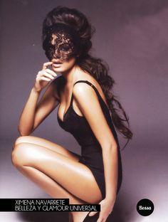 Ximena Navarrete, belleza y glamour universal.