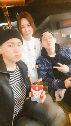 Zico, Taewoon and mother