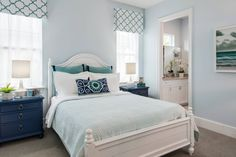 Jinx McDonald Interior Designs Love the paint color -- SW Iceberg