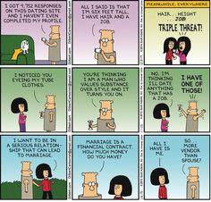 Dilbertin parhaimpia   Miesasia