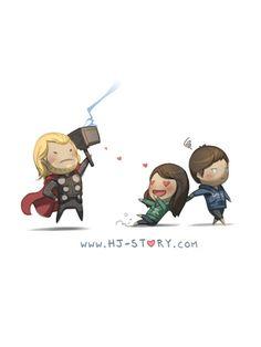 ThorThor | HJ Story Loved & pinned by http://www.shivohamyoga.nl/ #loveis #hjstory #love