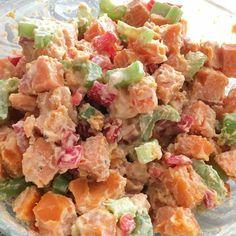 Tahini Sweet Potato Salad