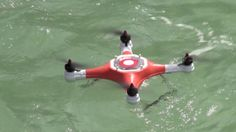 The Splash Drone can land on the water, to shoot beneath the surface. Follow APOLLO Drone World and help us change the drone world.