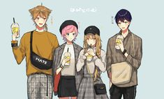 Anime Friendship, Pencil Drawings, Youtubers, Boys, Girls, Otaku, Anime Art, Fandom, Fantasy