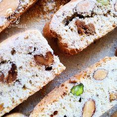 Paladares {Sabores de nati }: Cantucci / Galletas italianas de almendras, pistachos & nueces
