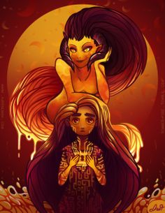Ava's Demon: Ava and Wrathia