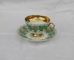 Vintage   Fine bone china  Cabinet Cup and by TheMewsCottage, £14.00