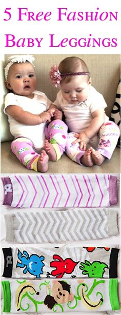 5 FREE Pairs of Fashion Leggings for Babies! {just pay s/h} ~ these make great Baby Shower gifts, too!