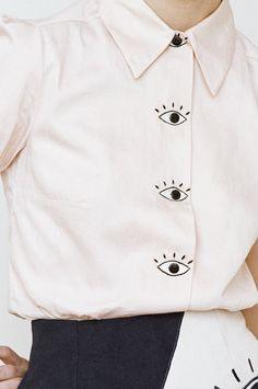 Baron's Eyes Blouse