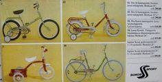 Lasten pyöriä, Sokost, mainos 70-luvulta